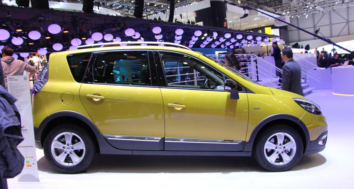 Nouveau Renault Scénic XMOD : le tout-chemin au losange en photos à Genève