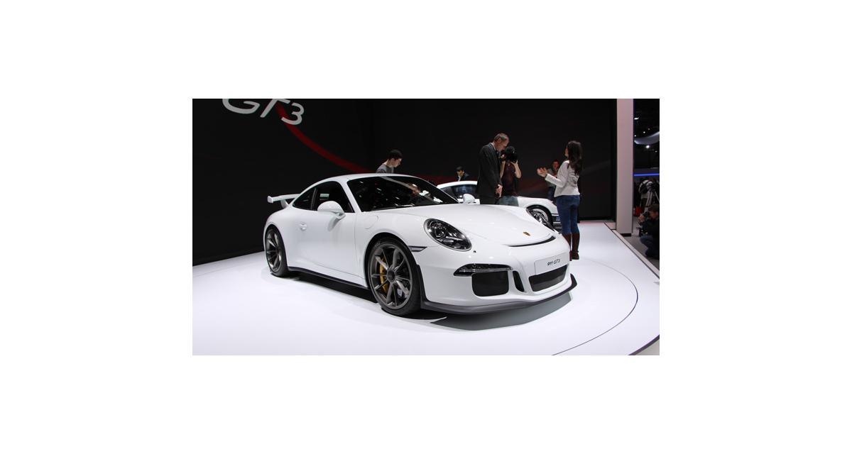 Porsche 911 GT3 en direct de Genève : toutes nos photos