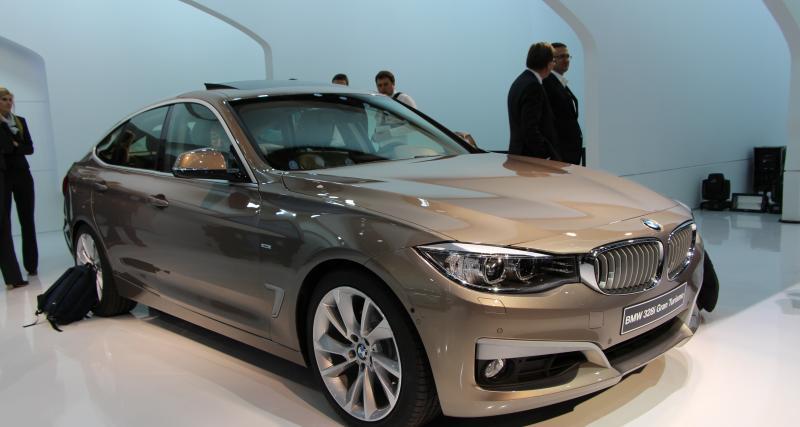 Nouvelle BMW Série 3 GT à Genève : nos photos de la berline 5 portes sur le stand bavarois