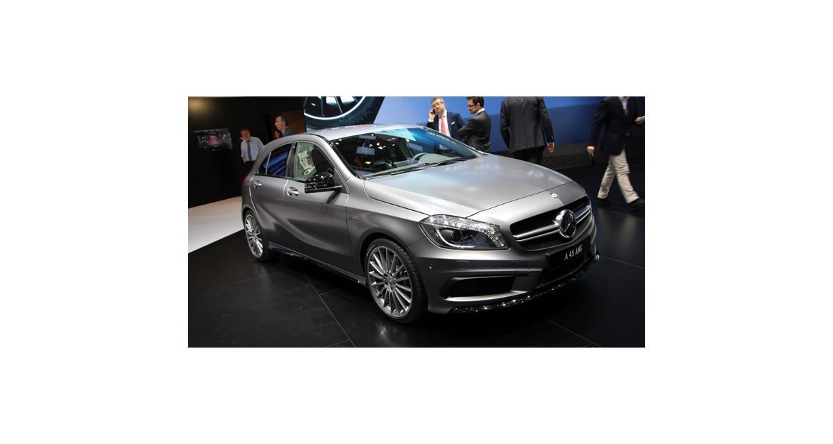 Mercedes A 45 AMG : nos photos exclusives à Genève de la super GTI à l'étoile