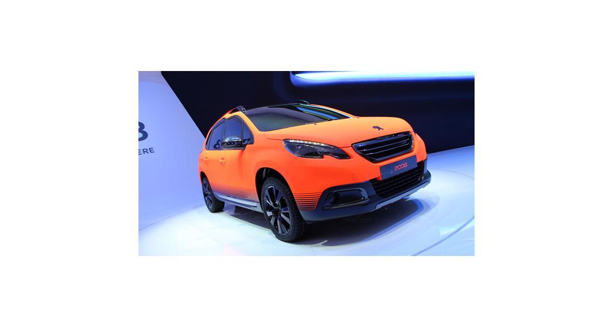 Peugeot 2008 à Genève : le Crossover concurrent des Juke et Captur est prêt