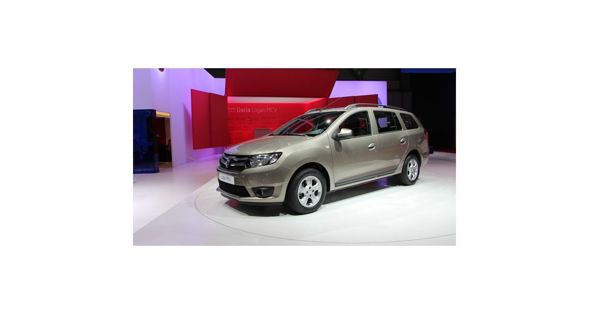 Nouveau Dacia Logan MCV à Genève : nos photos du break sur son stand