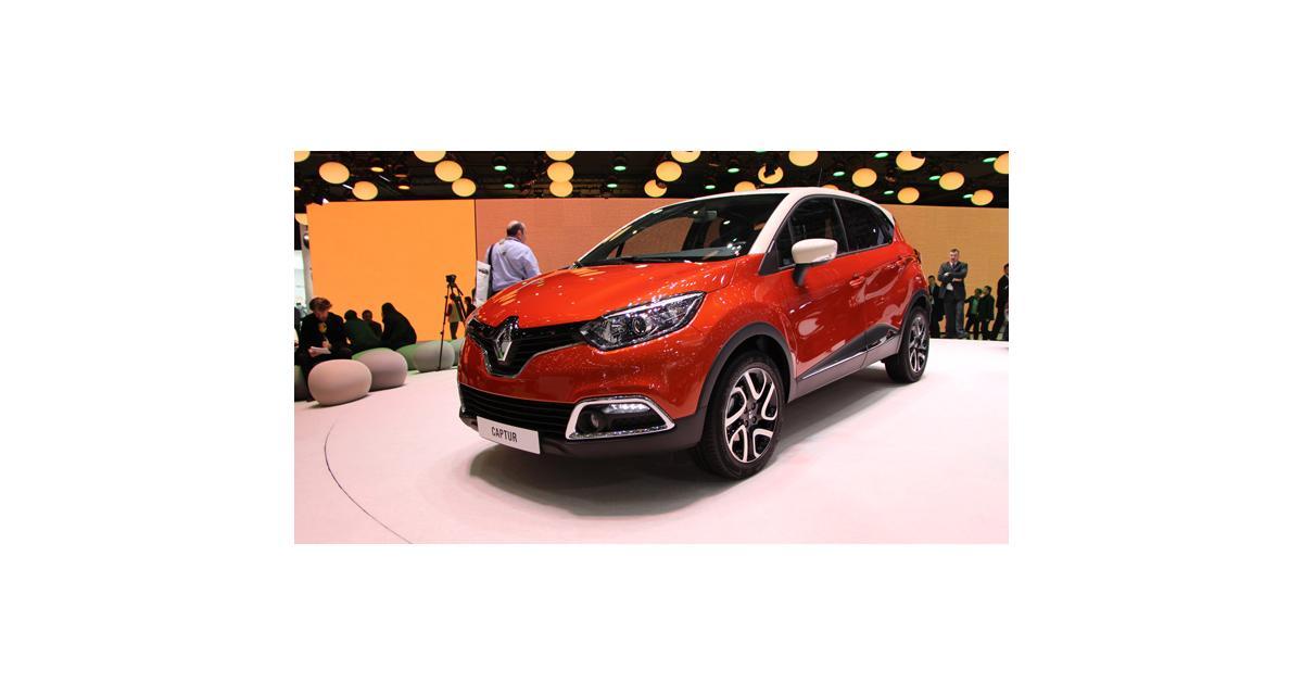 Renault Captur : toutes nos photos à Genève du concurrent des Juke et 2008
