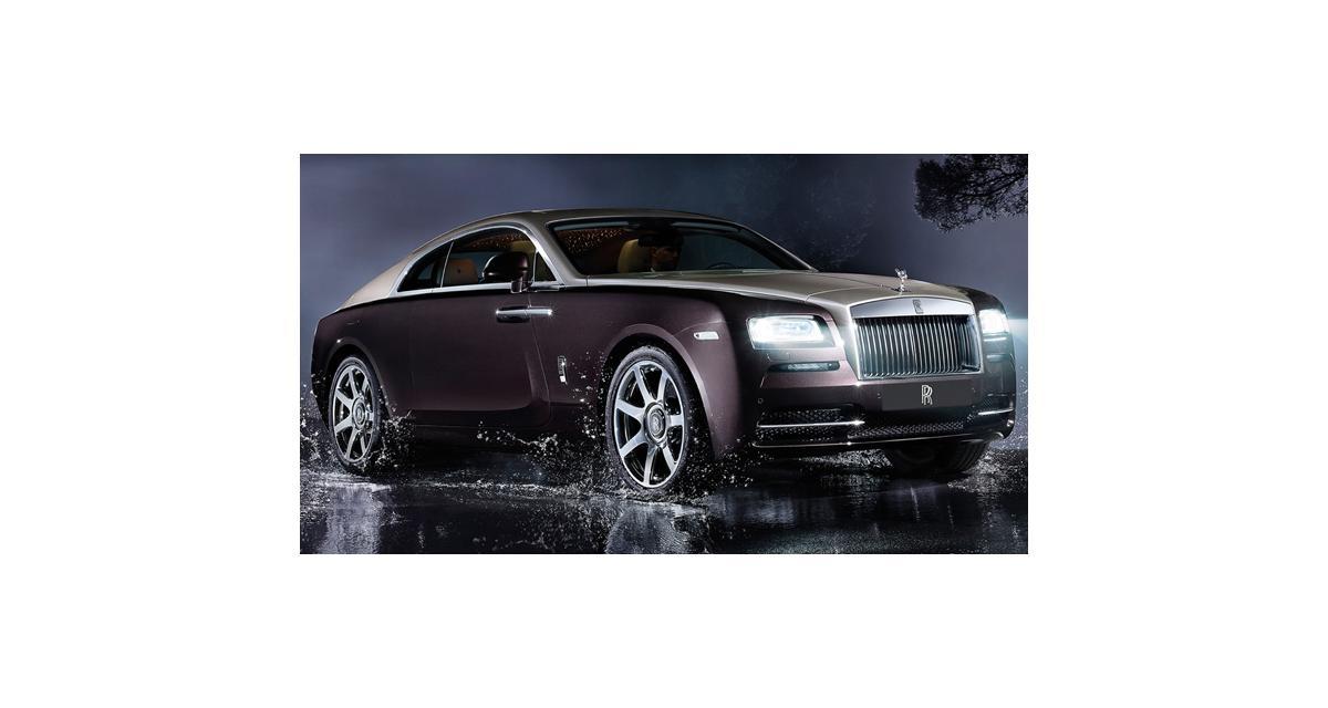 Rolls-Royce Wraith à Genève : toutes nos photos du spectre anglais