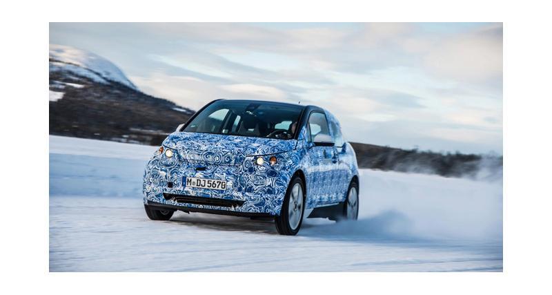 BMW i3 : premières photos officielles
