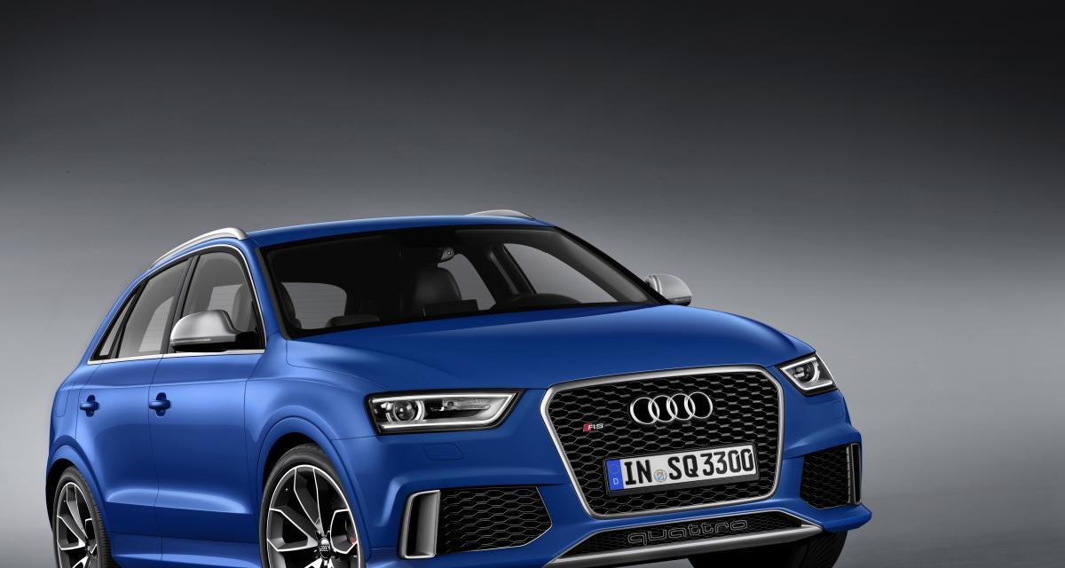 Audi RS Q3 : SUV bouillant