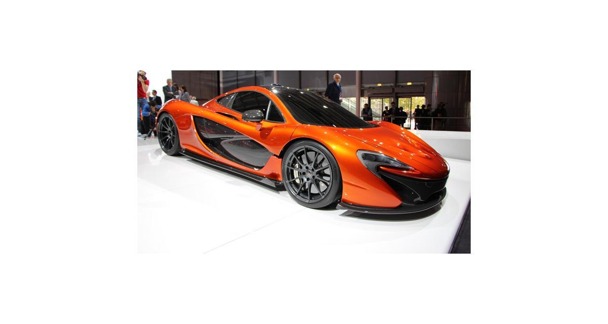 Nouvelle McLaren P1 : 916 ch sous le capot pour contrer la Ferrari F150