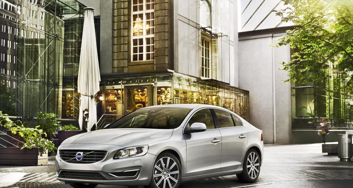 Nouvelle Volvo S60 (2013) : moins gourmande et encore mieux équipée
