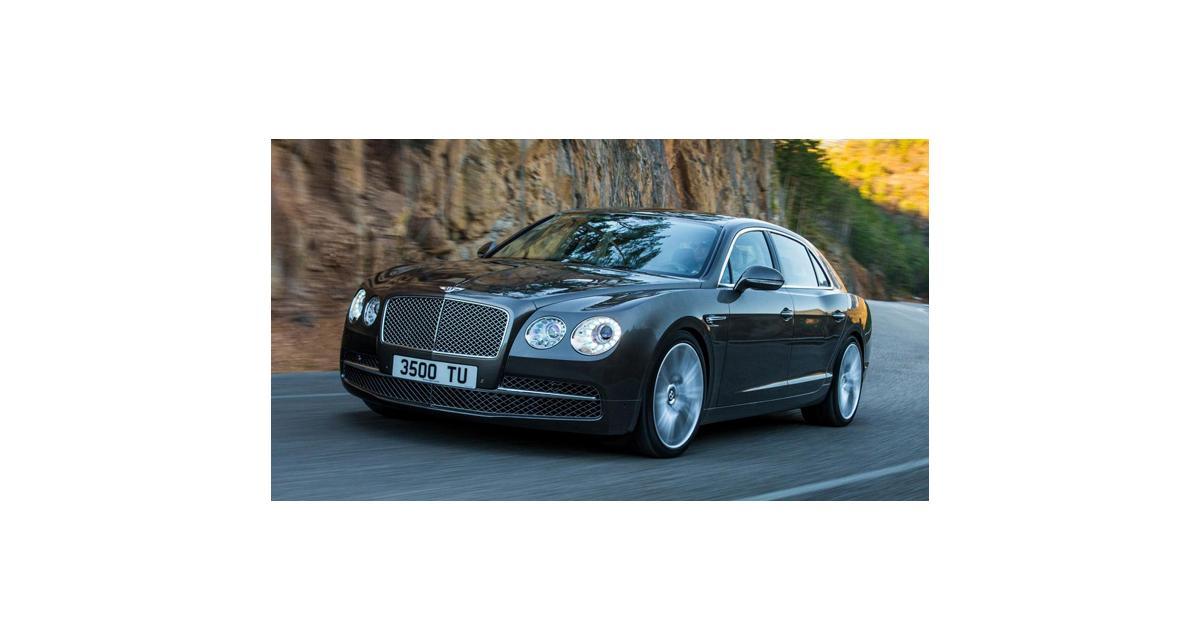 Bentley Flying Spur : élégante et puissante