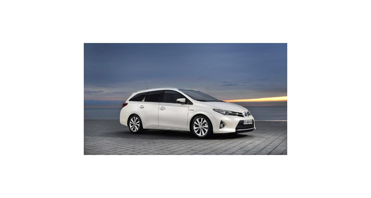 Toyota Auris Touring Sports : volume hybride