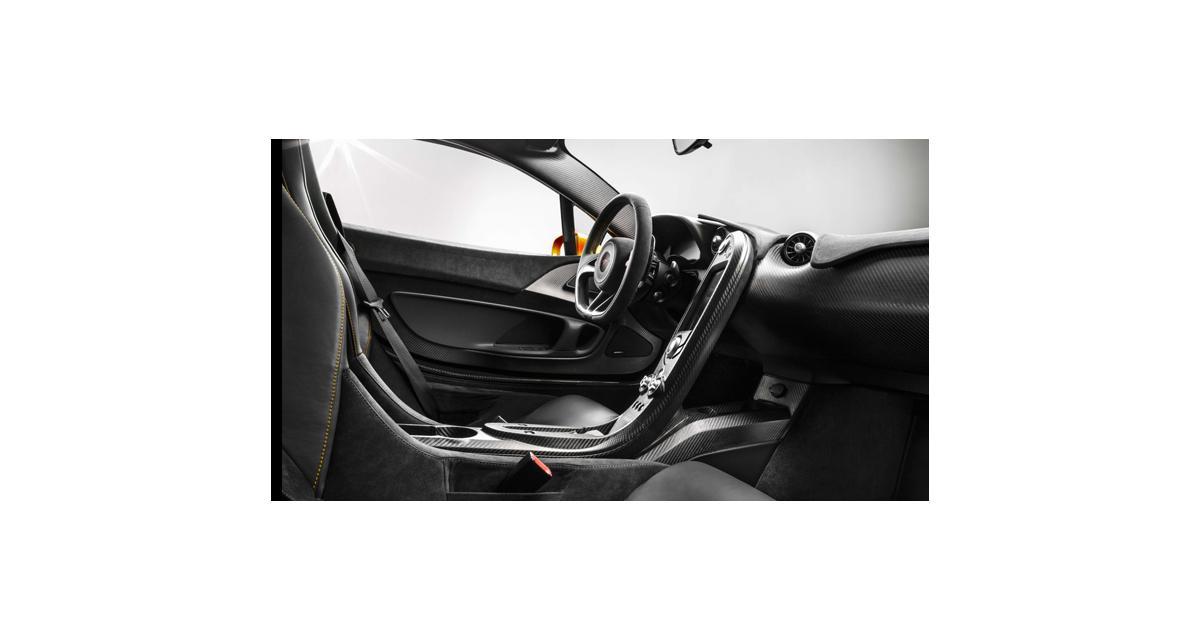 McLaren P1 : l'habitacle au régime