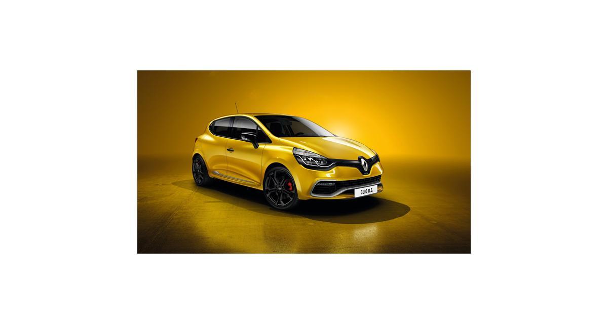 Le prix de la nouvelle Renault Clio IV R.S.