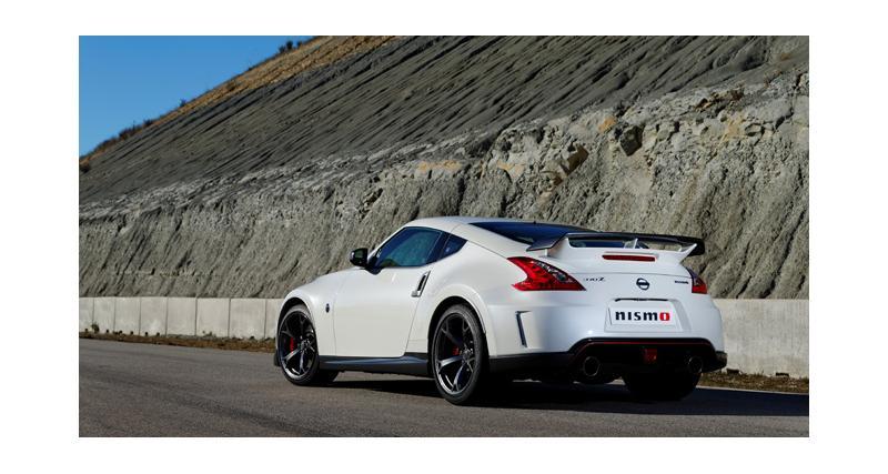 Nissan 370Z Nismo chez nous au printemps prochain