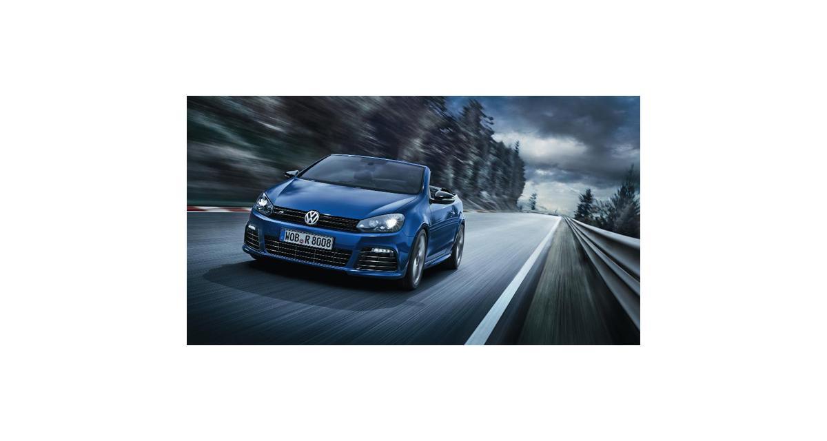 Volkswagen VI Golf R Cabriolet : 265 chevaux au vent