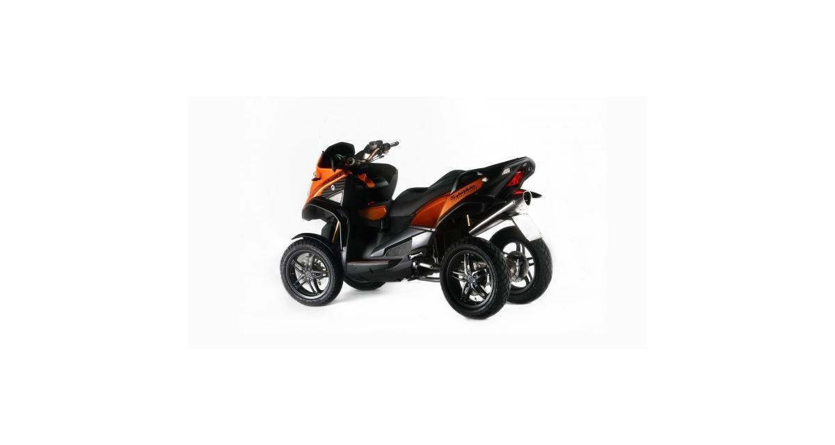 Le scooter Quadro 4D à quatre roues bientôt en vente