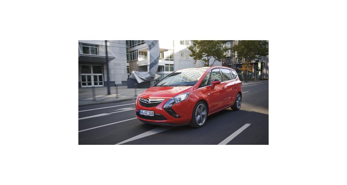 Opel Zafira Tourer : le 2.0 CDTI Biturbo de 195 ch en haut de gamme