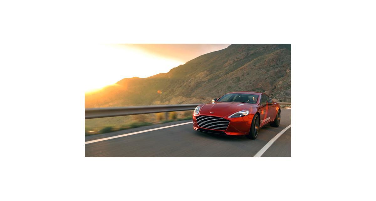 Aston Martin Rapide S : 558 ch et une tenue de sport
