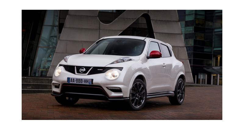 Nissan Juke Nismo : une version radicale de 220 chevaux