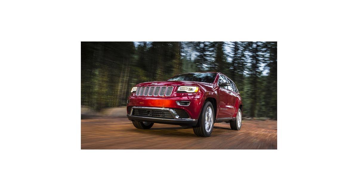Jeep Grand Cherokee restylé : l'Indien se replume (Detroit 2013)