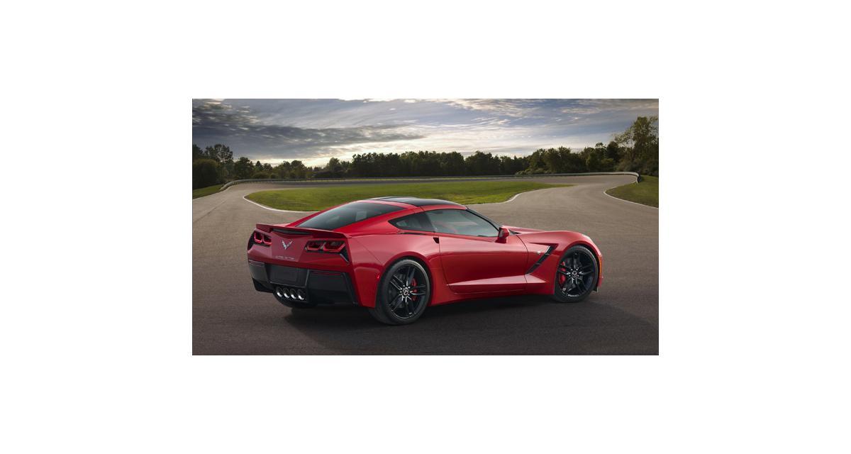 Detroit 2013 : Chevrolet Corvette Stingray