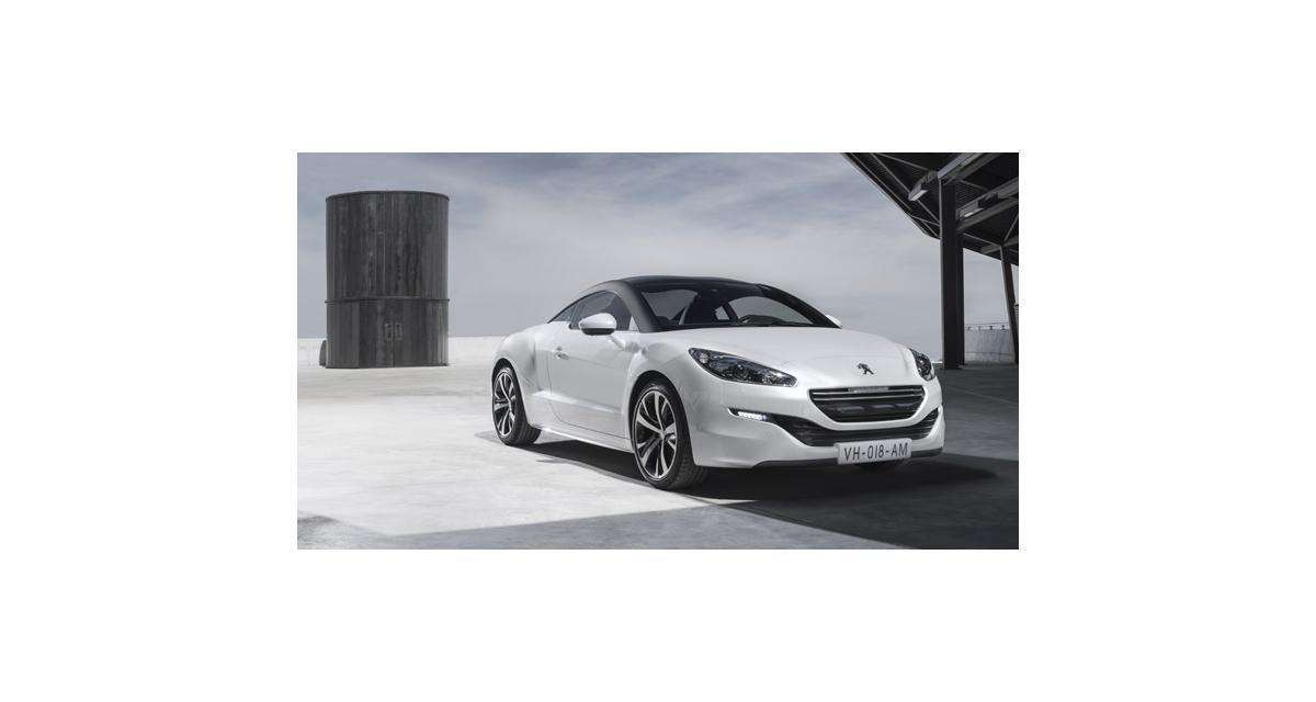 Nouveau Peugeot RCZ restylé : tous les prix du RCZ (à partir de 29 900 €)