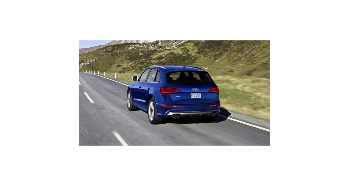 Audi SQ5 V6 3.0 TFSI 354 chevaux : de l'essence, mais pas pour la France