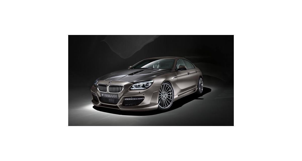 BMW Série 6 Grand Coupé à la sauce Hamann