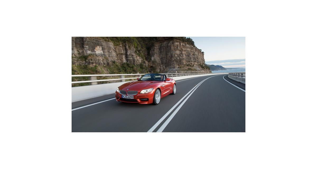 BMW Z4 : petit rafraîchissement et nouveau moteur