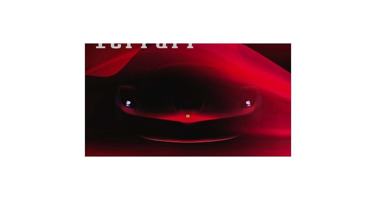Ferrari F70 : elle commence à se dévoiler