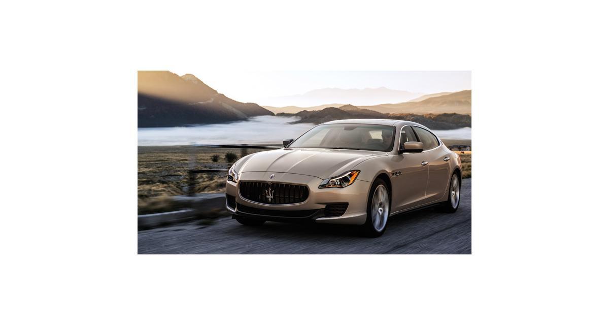 Nouvelle Maserati Quattroporte : la fiche technique dans le détail