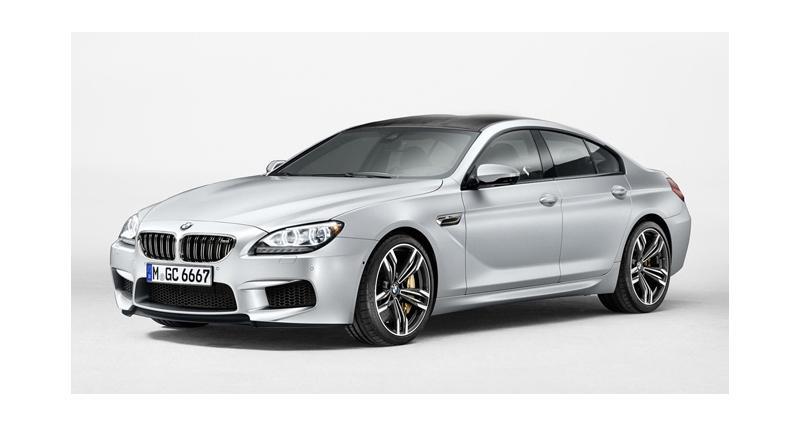 BMW M6 Gran Coupé : luxe, puissance et volupté