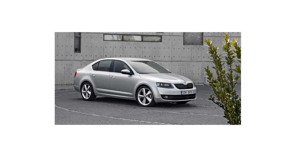 nouvelle skoda octavia 2013 la passat d pass e. Black Bedroom Furniture Sets. Home Design Ideas