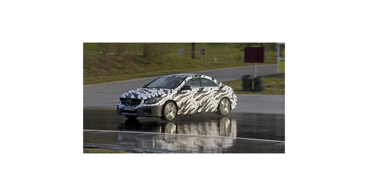 Mercedes CLA 45 AMG : premières photos officielles