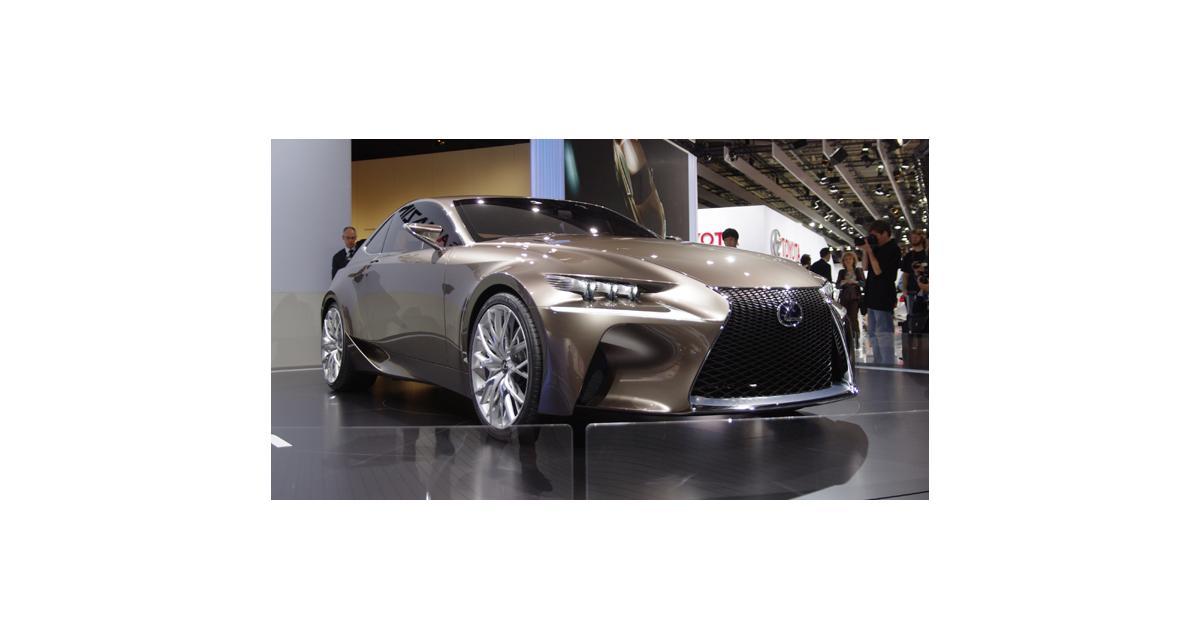 Lexus : la nouvelle IS sera à Detroit
