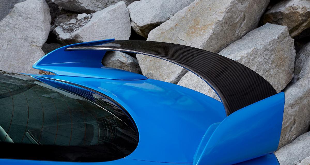 Jaguar XFR-S : maintenant l'aileron