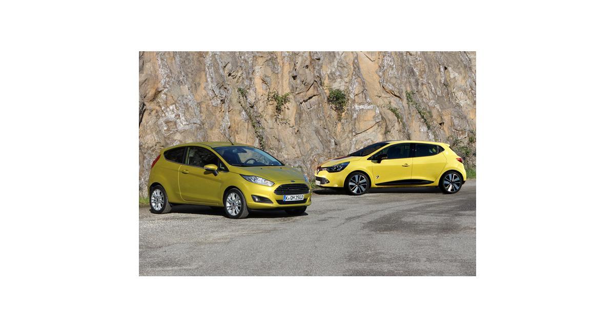 Renault Clio 4 et Ford Fiesta : tous les prix des deux citadines