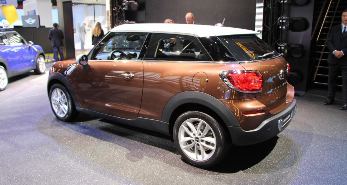 Mondial de l'Auto en direct : Mini Paceman