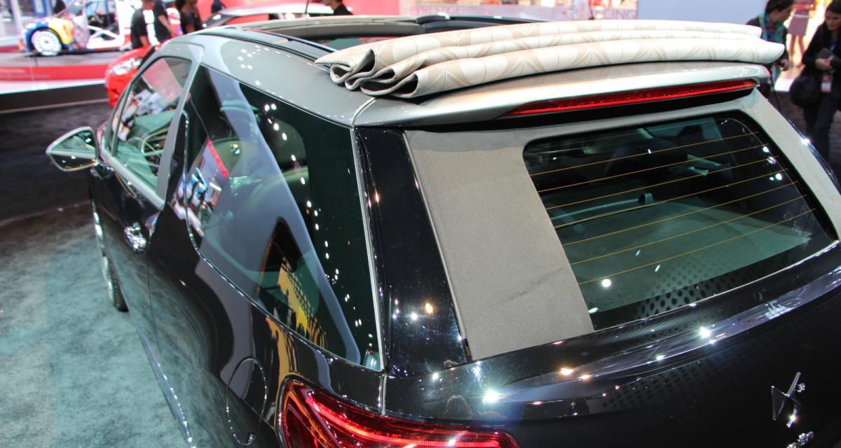 Mondial de l'Auto 2012 en direct : Citroën DS3 Cabrio