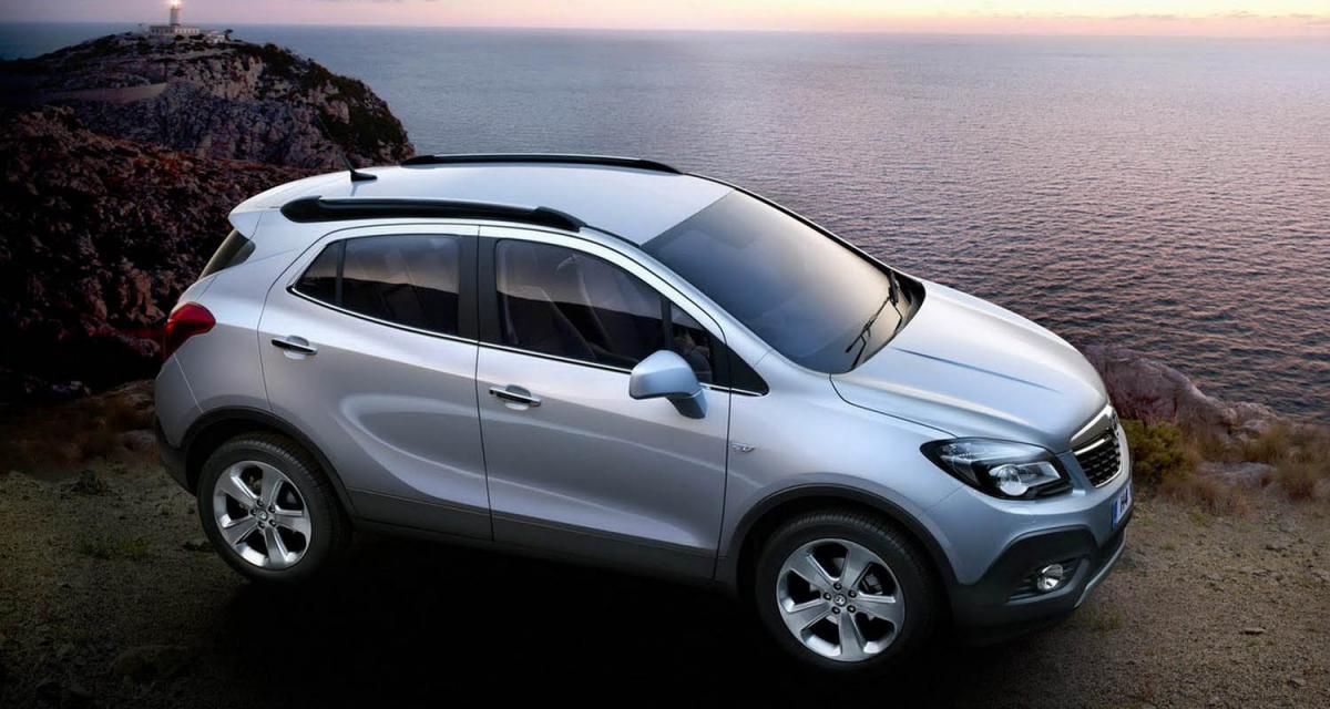 Opel Mokka : à partir de 18 990 €