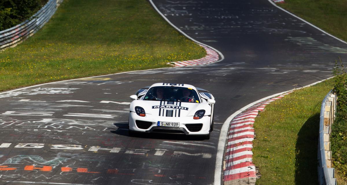 Porsche 918 Spyder : toutes les infos et photos