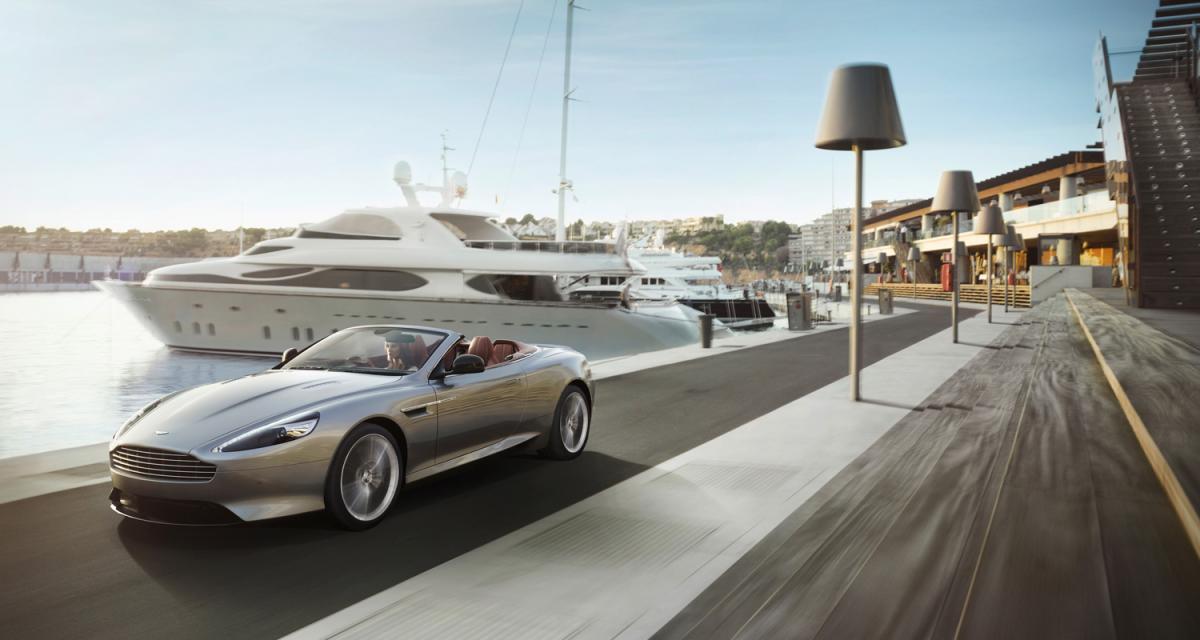 Aston Martin DB9 restylée : comme un air de déjà-vu