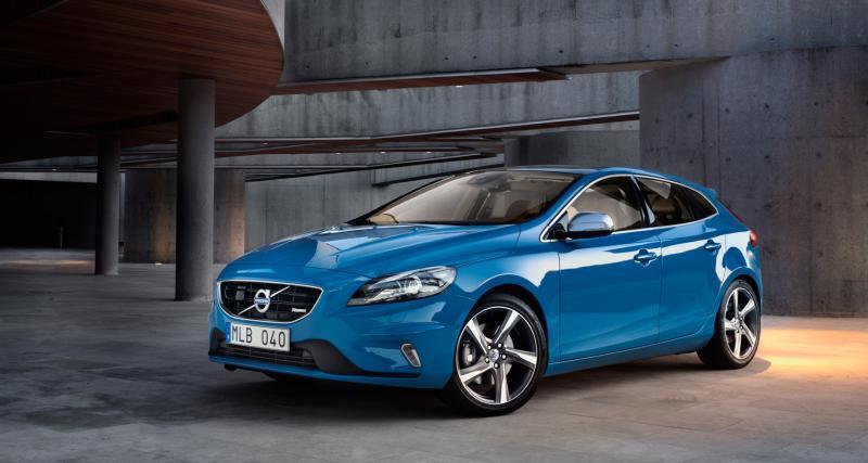 Mondial 2012 : Volvo V40 R-Design