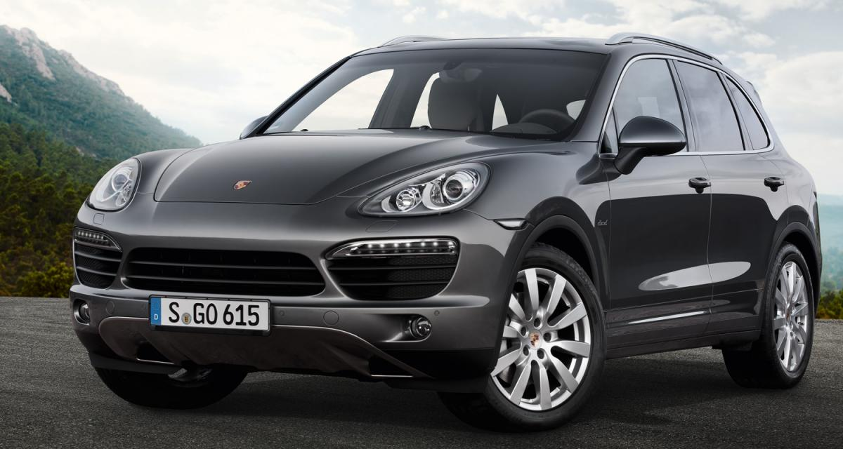 Mondial 2012 : Porsche Cayenne S diesel