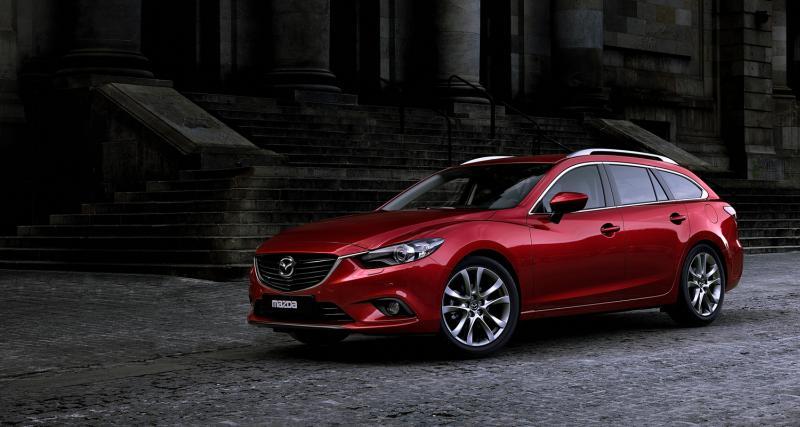 Mondial 2012 : Mazda6 Wagon