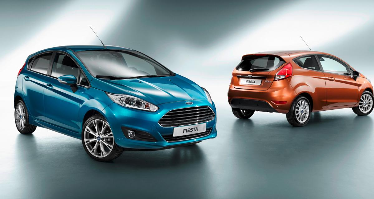 Mondial 2012 : Ford Fiesta restylée