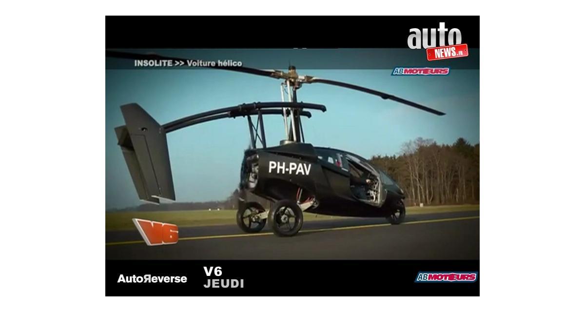Zapping Autonews : Romain Grosjean, voiture-hélicoptère et Coccinelle sous-marine