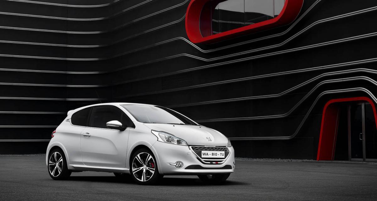 Mondial 2012 : Peugeot 208 GTi
