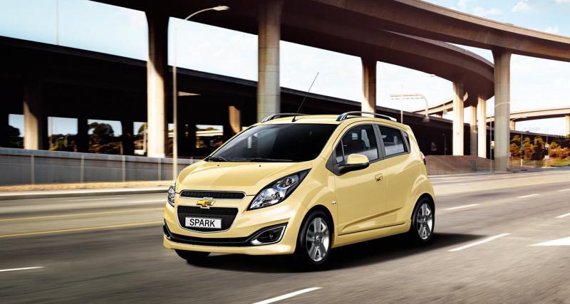 Mondial 2012 : Chevrolet Spark restylée