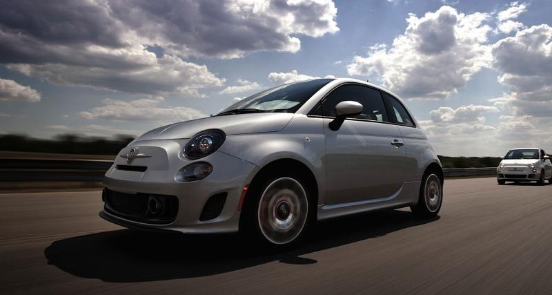 Pebble Beach 2012 : Fiat 500 Turbo