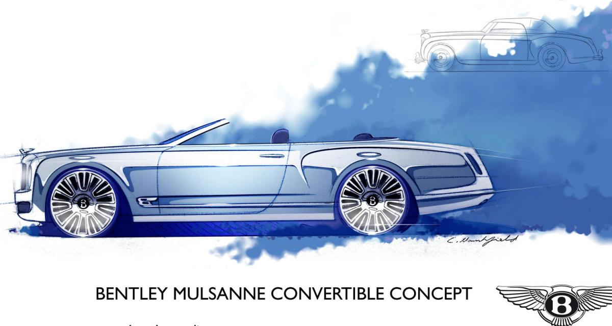 Bentley Mulsanne Convertible : la relève arrive